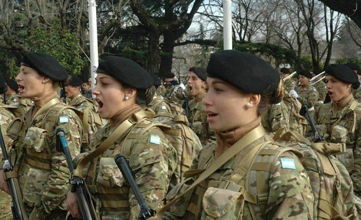 Ejército Argentino incorporará a 19 mujeres postulantes